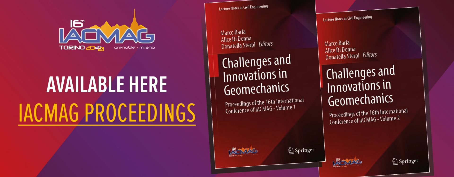 16th International Conference of IACMAG  1